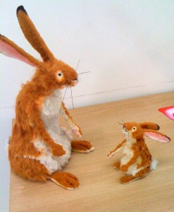 Nut Brown Hares